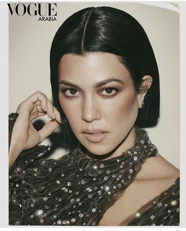 Кортни Кардашьян топлес снялась для арабского выпуска Vogue
