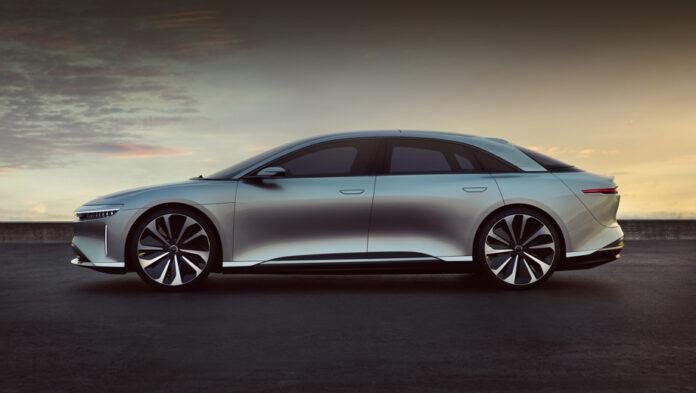 Быстрее Tesla: электромобиль Lucid Air получит самую быструю зарядку