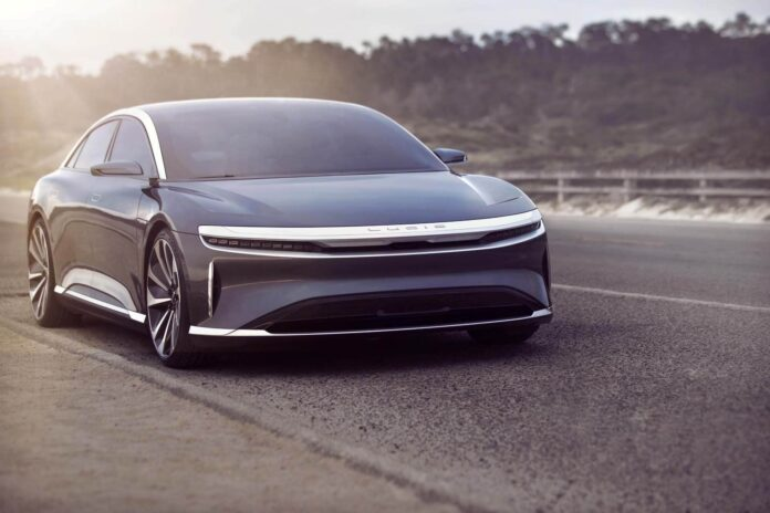 Lucid Air обойдет Tesla Model S по запасу хода