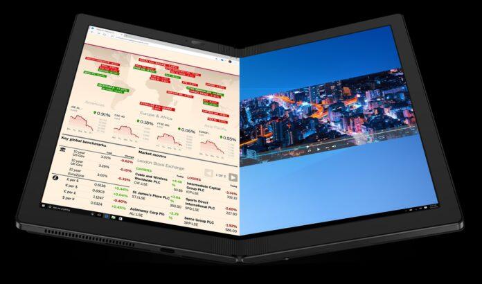 Первый ноутбук с гибким экраном Lenovo выпустит в конце октября – ThinkPad X1 Fold