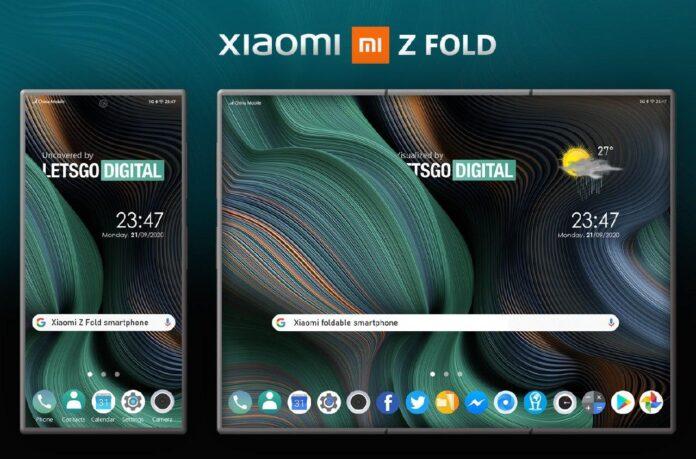 Xiaomi Mi Z Fold: самый необычный складной смартфон