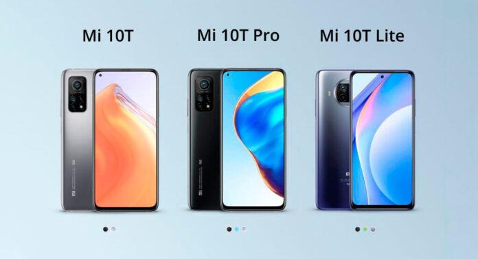 Представленные в Украине Xiaomi Mi 10T, Mi 10T Pro и Mi 10T Lite порадовали стоимостью