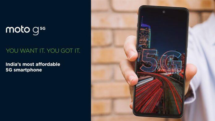 Представлен Moto G 5G: попытка создать конкурента для Redmi Note 9 Pro 5G