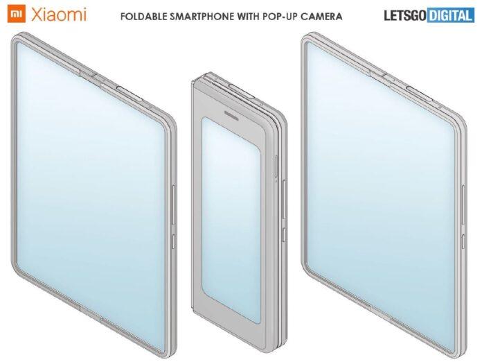 Xiaomi выпустит необычный складной смартфон с выдвижной камерой