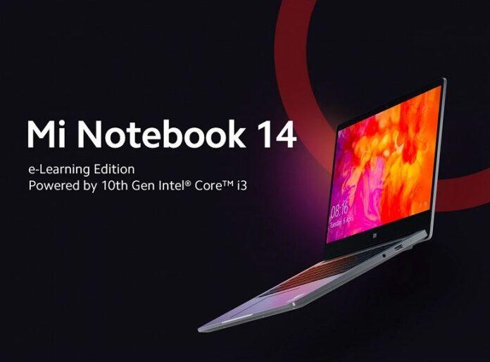 Xiaomi озвучила возможности нового бюджетного  ноутбука Mi Notebook 14 e-Learning Edition