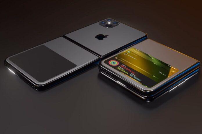 В Сети появились первые фотографии раскладного смартфона Apple