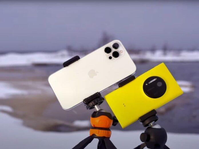 Флагман 2013 превосходит iPhone 12 Pro Max в плане фотосъемки