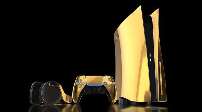 Стала известна цена золотой SonyPlayStation
