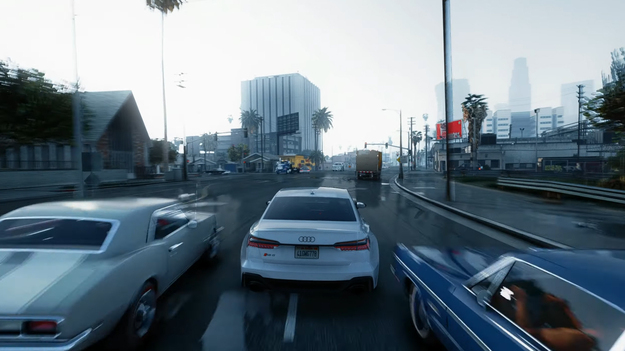 Поклонник GTA удивил реалистичной графикой GTA 5 Remastered