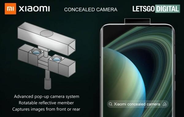 Xiaomi разработала уникальную систему скрытых камер для смартфона