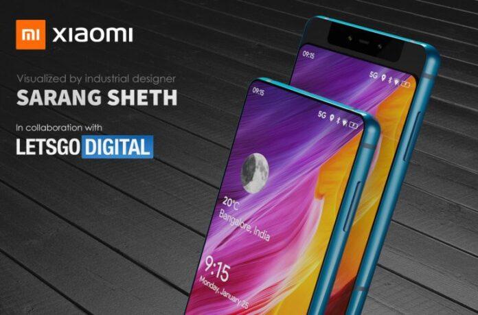 Xiaomi Mi Mix 4: необычный слайдер с экраном, который заканчивается на задней панели