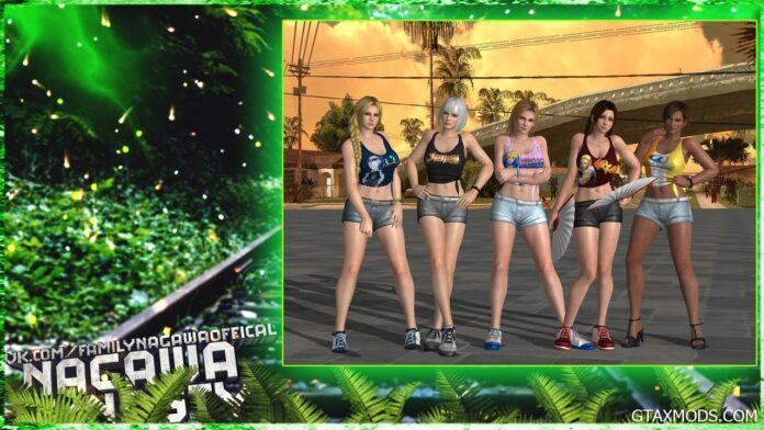 Художник показал, как девушки из GTA выглядели бы в реальном мире