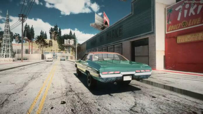 Новая реалистичная графика GTA: San Andreas удивила игроков