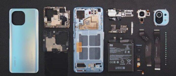 Ремонтопригодность бюджетного флагмана Xiaomi Mi 11 оказалась на высоте