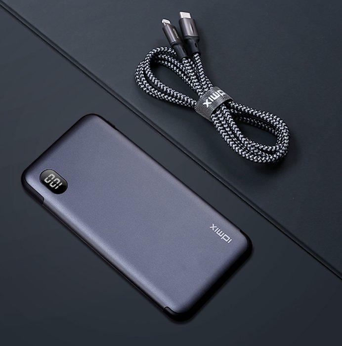 Xiaomi выпустила доступный переносной аккумулятор на 10000 мАч, который поддерживает быструю зарядку iPhone 12
