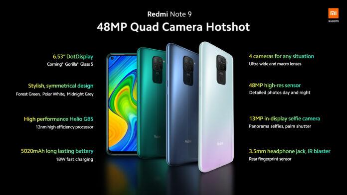 Xiaomi Redmi Note 9 упал в цене – Helio G85, NFC и аккумулятор на 5020 мА*ч с большой скидкой