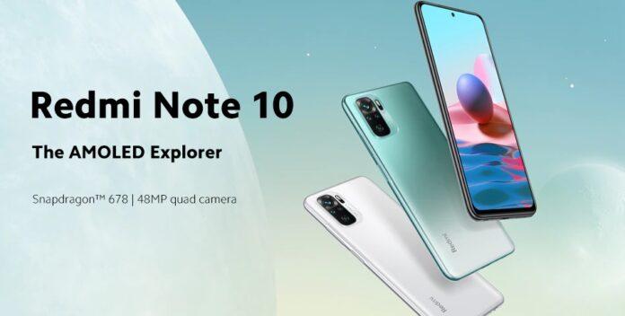 Xiaomi снижает цену на Redmi Note 10