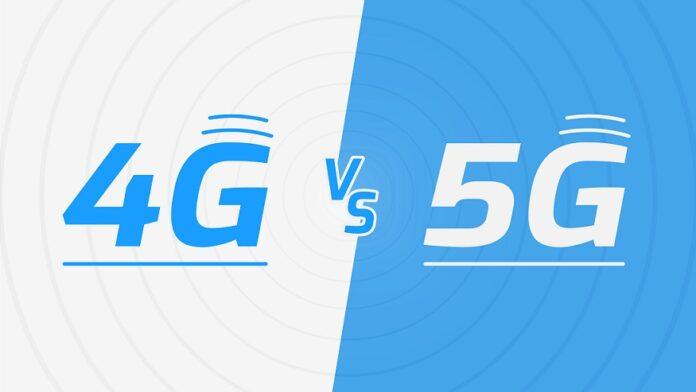 Скорость 4G оказалась намного выше, чем 5G