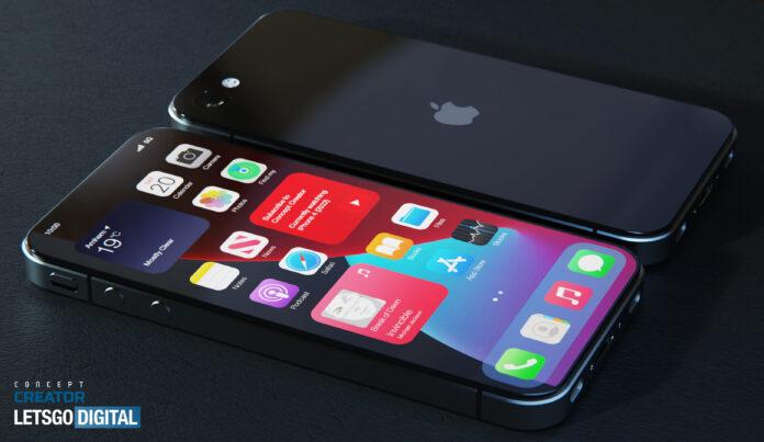 Дизайнер показал обновленный iPhone 4 в 2021 году