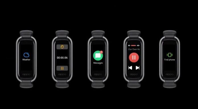 OPPO представила достойного конкурента для Xiaomi Mi Band 5