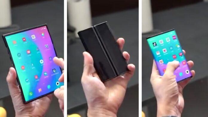 Xiaomi Mi Mix 4 Pro Max станет первым сгибаемым смартфоном компании