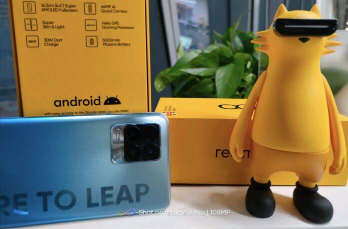 Realme 8 и 8 Pro — подтверждены характеристики главных конкурентов Redmi Note 10
