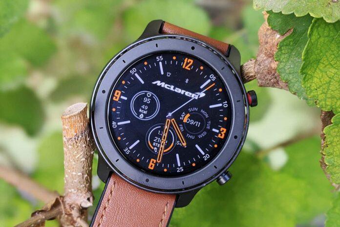 Популярные «умные» часы Xiaomi Amazfit GTR подешевели на 1100 гривен