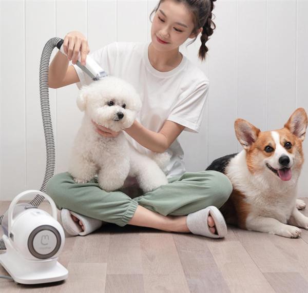 Xiaomi выпустила многофункциональный триммер для лёгкого ухода за шерстью домашних животных
