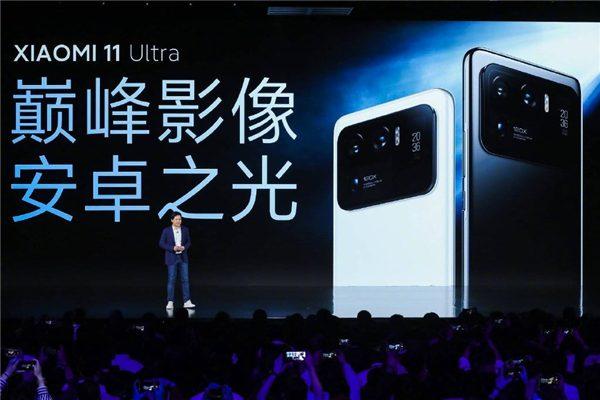 Xiaomi Mi 11 Ultra благодаря второму дисплею может работать 55 часов при низком заряде батареи