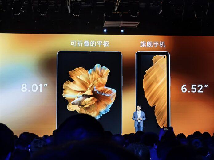 Представлен Xiaomi Mi MIX Fold: самый доступный складной смартфон