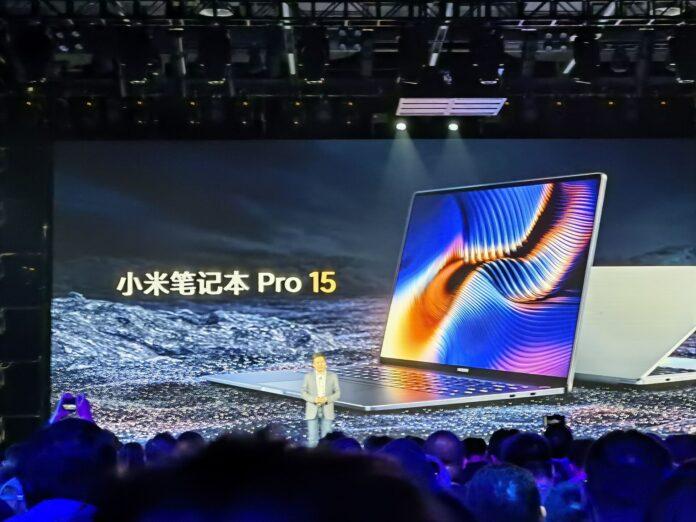 Представлен Mi Notebook Pro: OLED дисплей 2K, MX450, от $ 980