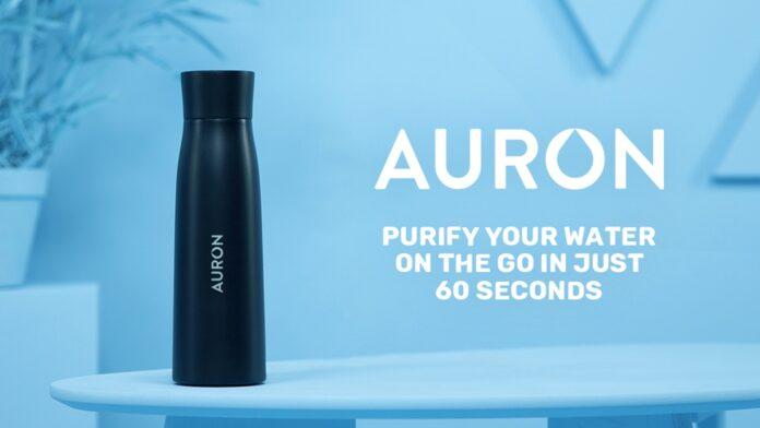 Создана «умная» бутылка, способная превращать любую воду в питьевую