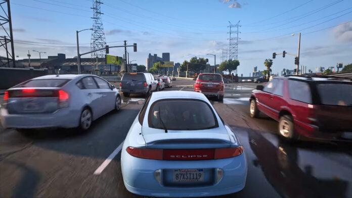 Вместо GTA 6 существенно улучшили графику в GTA V