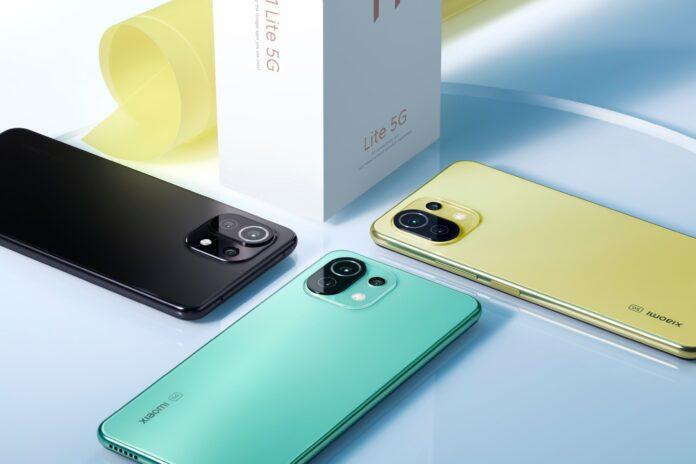 Xiaomi Mi 11 Lite 5G представлен в Украине
