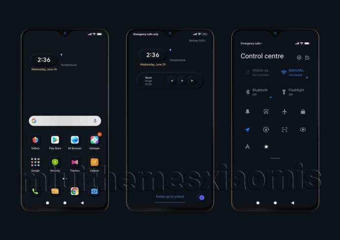 Появилась новая тема для MIUI 12, которая повышает автономность смартфонов Xiaomi