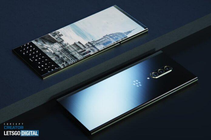 Первые изображения перспективного смартфона BlackBerry Key 3 5G