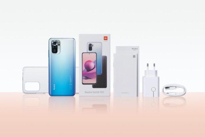 Redmi Note 10s — комплект поставки первого смартфона с предустановленной MIUI 12.5