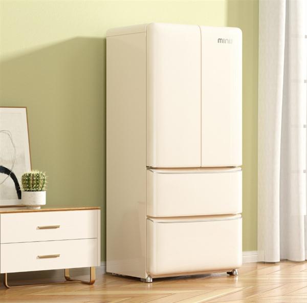 Xiaomi выпустила четырехдверный холодильник в стиле ретро и объемом 448 литров