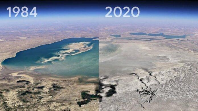 Google показал на видео произошедшие на планете за 37 лет изменения