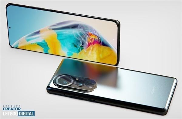 Опубликована новая 3D-модель Huawei P50 Pro