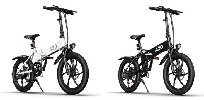 ADO представила складной электрический велосипед с запасом хода 80 км и быстрой зарядкой