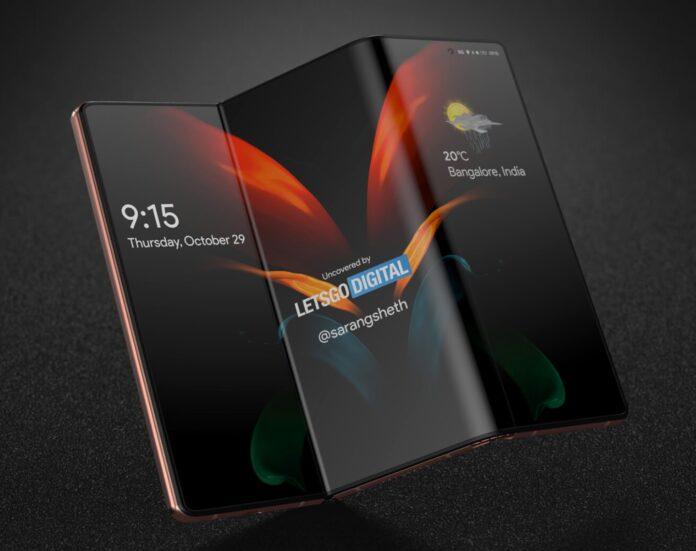 """Samsung представит смартфон со складным дисплеем S-Foldable диагональю 17"""""""