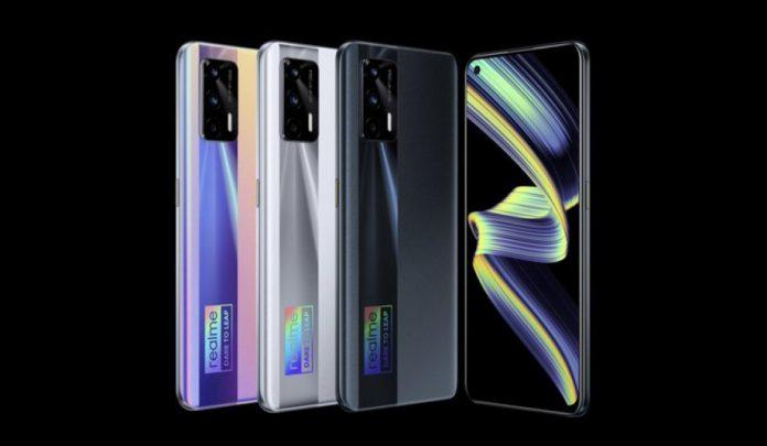 Представлен Realme X7 Max: Super AMOLED дисплей 120 Гц, Dimensity 1200, видео 4K с частотой 60 кадров в секунду, 50 Вт быстрая зарядка
