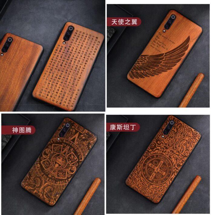 Появились доступные деревянные чехлы для смартфонов Xiaomi, Redmi и Poco