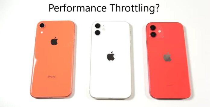 Скорость работы iPhone XR оказалась выше iPhone 12