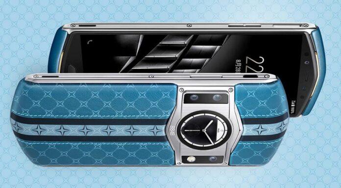 Смартфон с титановым корпусом, с позолотой, кожей тибетского вола, Snapdragon 865 и двумя дисплеями за 1500 $