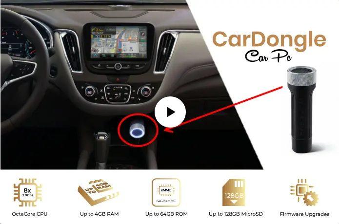 Миниатюрный CarDongle наделит автомобиль возможностями смартфона