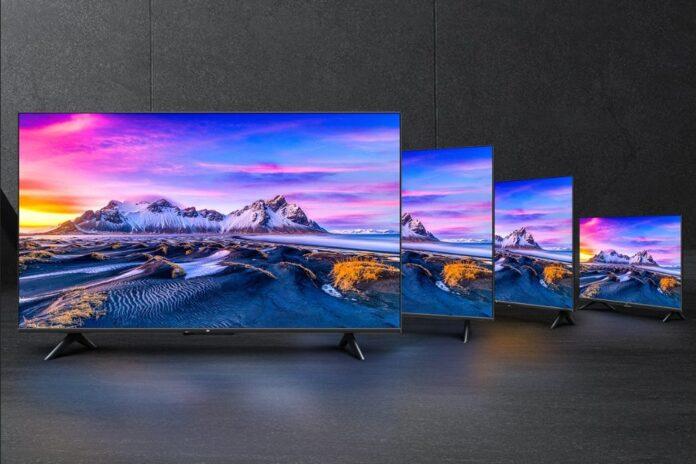 Xiaomi выпустила новую серию доступных телевизоров Mi TV P1