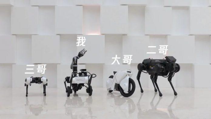 Tencent разрабатывает необычного двухколесного робота Ollie, который умеет делать сальто назад