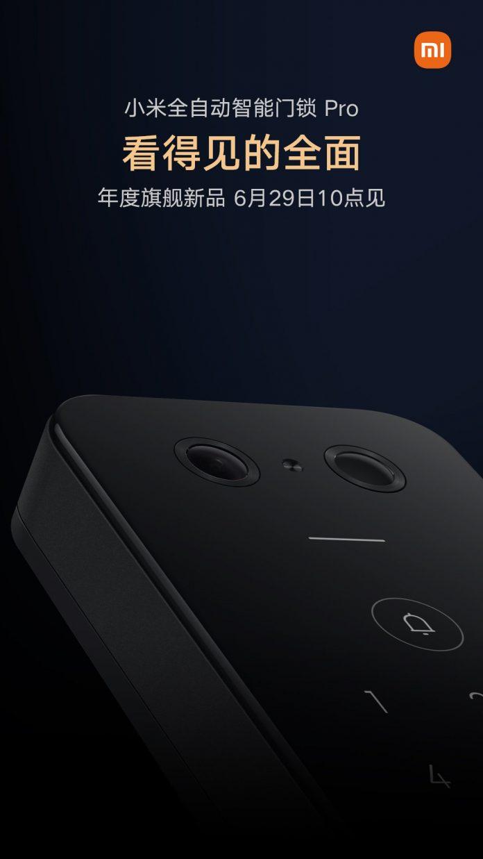Xiaomi анонсировала дверной замок с функцией 3D-распознавания лица